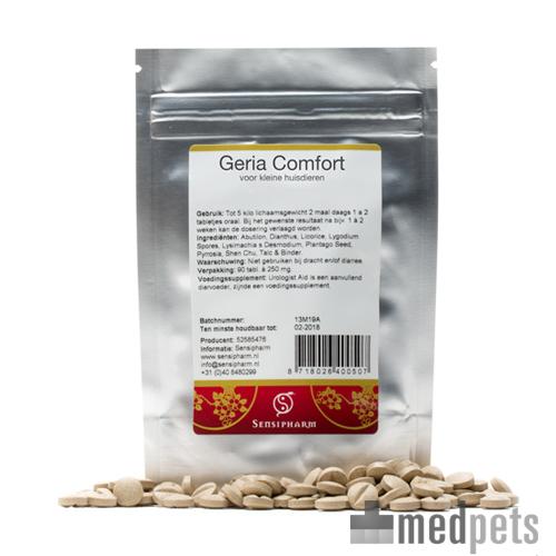 Geria Comfort is een aanvullend diervoeder op basis van Chinese kruiden