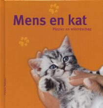Mens en kat. Plezier en vriendschap.